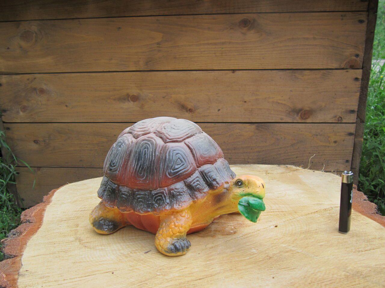 Как сделать черепаху своими руками для сада из цемента 62